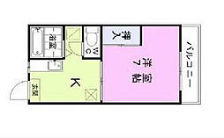 パークサイド太田[2階]の間取り