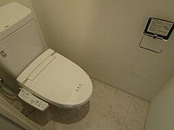 リーガレジデンス豊崎のシンプルで使いやすいトイレです