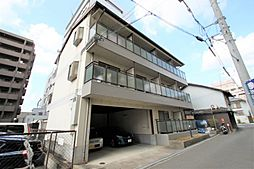 大阪府豊中市岡町の賃貸アパートの外観