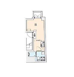 東京メトロ千代田線 湯島駅 徒歩2分の賃貸マンション 3階ワンルームの間取り
