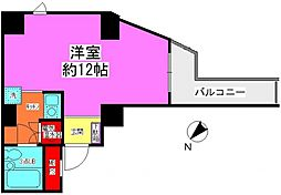 ライオンズマンション末吉町[301号室号室]の間取り
