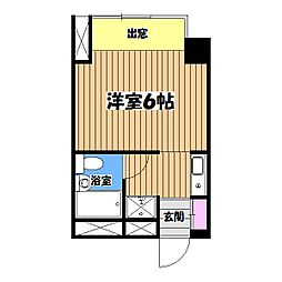 セゾン[2階]の間取り