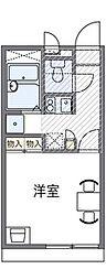 兵庫県三田市駅前町の賃貸アパートの間取り
