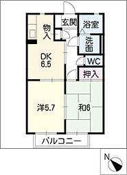 バリュージュ・ピア[2階]の間取り