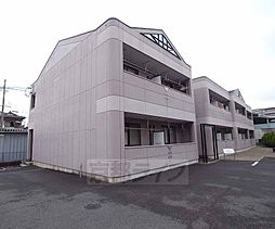京都府八幡市八幡女郎花の賃貸アパートの外観