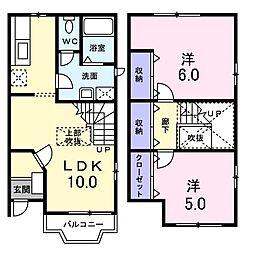 イデアル ファミーユ I[2階]の間取り