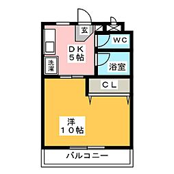 横井ビルII[2階]の間取り