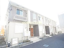 神奈川県厚木市上荻野の賃貸アパートの外観