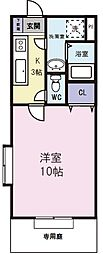 グランフォート[1階]の間取り