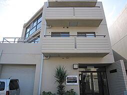 大阪府茨木市水尾2丁目の賃貸マンションの外観