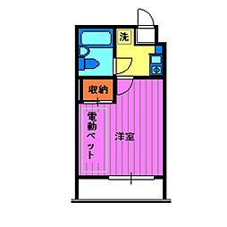 エマーユ川越東田町[4階]の間取り