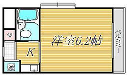 エヴェナール高円寺III[3階]の間取り