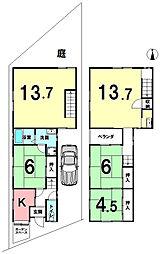十条駅 4,980万円