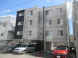 北海道千歳市清水町4丁目の賃貸マンションの外観