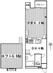 ハイツ318[203号室号室]の間取り