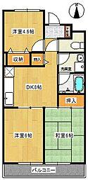 コリーナ柏井[2階]の間取り