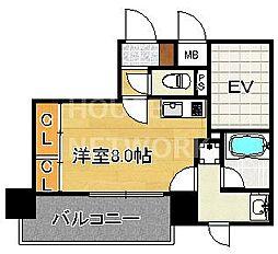 ALTA京都堀川WINDOOR[1202号室号室]の間取り