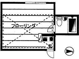 花小金井MSホーム2番館[2階]の間取り