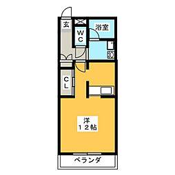 J MOA[2階]の間取り