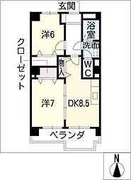 IDAKADAIBLG[3階]の間取り