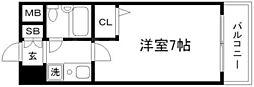 エスリード新大阪第2[2階]の間取り