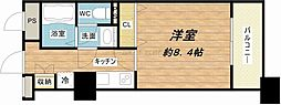 メゾン・ド・ヴィレ大阪城公園前[13階]の間取り