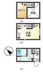 akara(アカラ)[1階]の間取り