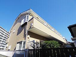 東京都東村山市富士見町3丁目の賃貸アパートの外観
