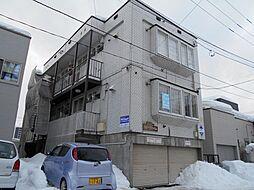 北海道札幌市白石区東札幌三条4丁目の賃貸アパートの外観