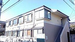 東京都葛飾区南水元2丁目の賃貸アパートの外観