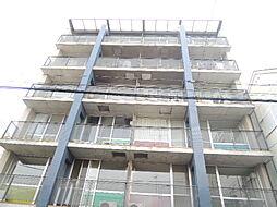大阪府大阪市東住吉区矢田4の賃貸マンションの外観