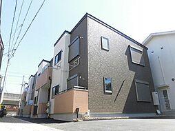 大阪府八尾市小阪合町1丁目の賃貸アパートの外観