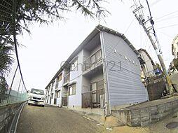 大阪府箕面市牧落5丁目の賃貸アパートの外観