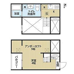 シェルト氷室  (シェルトヒムロ)[1階]の間取り