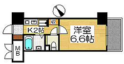 ボンシェール堺[2階]の間取り
