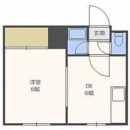 DEVEX382[1階]の間取り