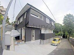兵庫県宝塚市中山荘園の賃貸アパートの外観