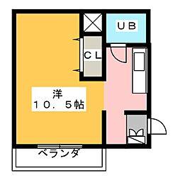 チサンマンション桜通久屋[8階]の間取り