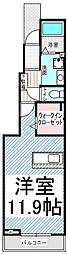 リップル箱清水[1階]の間取り