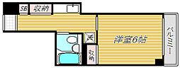 大橋ビル[4階]の間取り