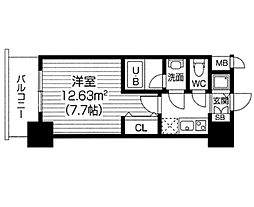 S−RESIDENCE福島Luxe[1105号室]の間取り