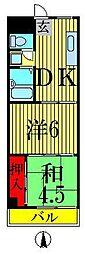 細田ビル[2階]の間取り