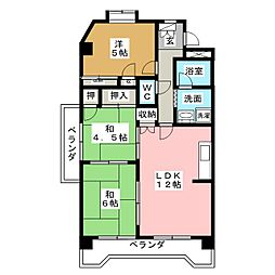 第2田中ビル[2階]の間取り