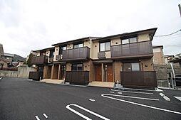 山口県下関市大字田倉の賃貸アパートの外観