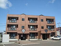 北海道札幌市白石区北郷一条9丁目の賃貸マンションの外観