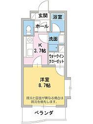 サンラック・K[1階]の間取り