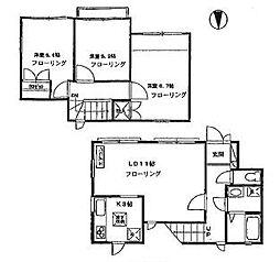[テラスハウス] 神奈川県横浜市都筑区東山田3丁目 の賃貸【/】の間取り