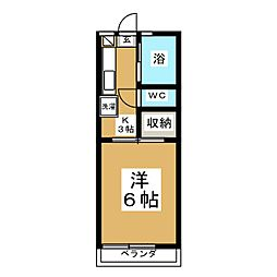 FERIO[2階]の間取り