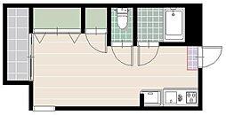AMハイツ今川[3階]の間取り