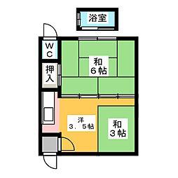 新那加駅 2.7万円